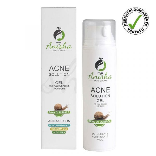 Acne gel pulizia viso MyAnisha