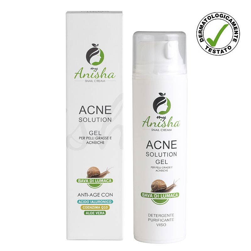 MyAnisha Acne facial cleansing gel