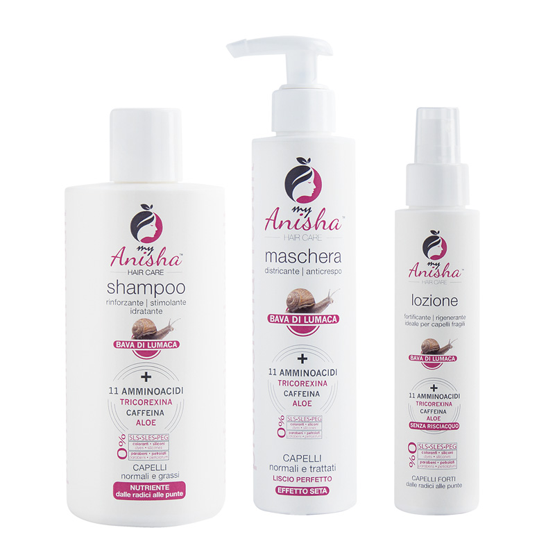 La linea Hair Care MyAnisha
