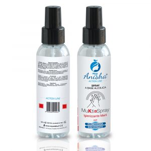 Spray Igienizzante Mukti Gel